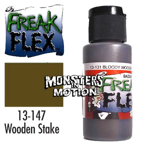 Freak Flex Bloody Wooden Stake Paint 1 Ounce Flip Top Bottle