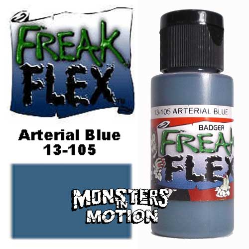 Freak Flex Arterial Blue Paint 1 Ounce Flip Top Bottle