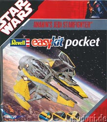 Star Wars Anakin's Jedi Starfighter Easykit Pocket Model Kit