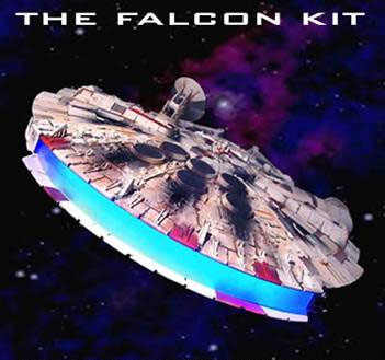 Star Wars Millennium Falcon Deluxe Light Kit