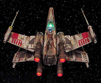 Star Wars X-Wing Custom Lighting Kit
