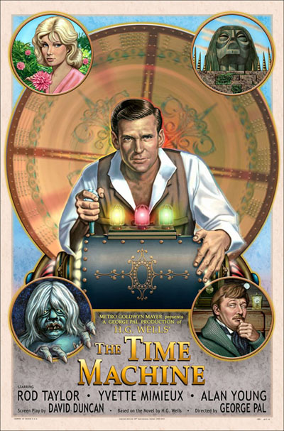 Time Machine 1960 50th Anniversary Limited Edition Poster 27 X 41