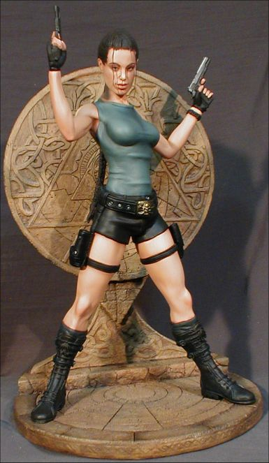 Raider Girl With LT1 Fantasy Base 1/6 Scale