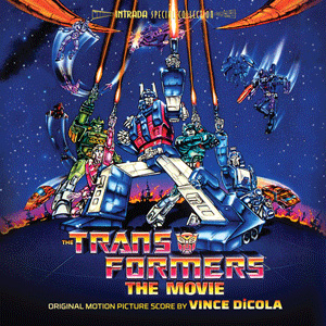 Transformers The Movie Original Score Soundtrack Vince DiCola