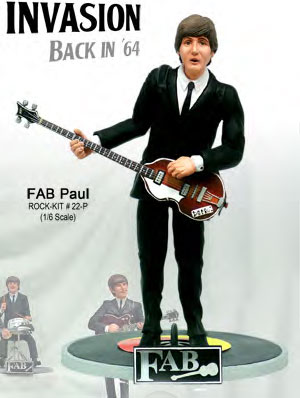 Fab Invasion 64 Paul 1/6 Scale Model Kit