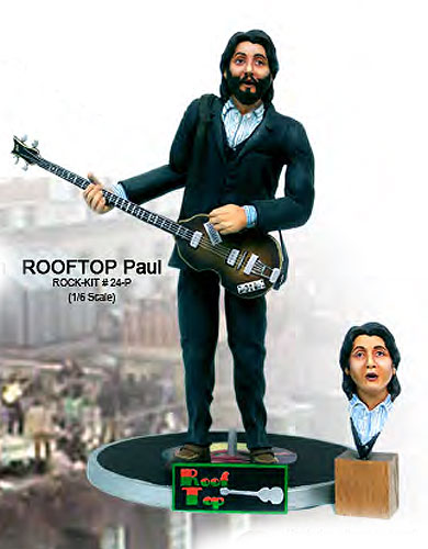 Rooftop Fabs Paul 1/6 Scale Figure Model Kit