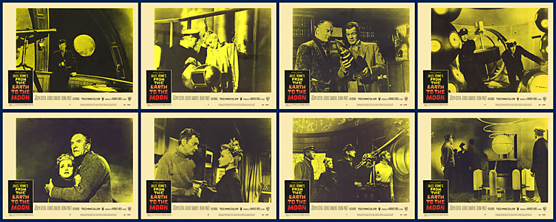 From The Earth To The Moon - 1958 - Lobby Card Set