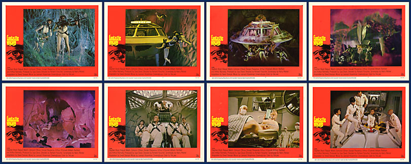 Fantastic Voyage 1966 11x14 Lobby Card Set