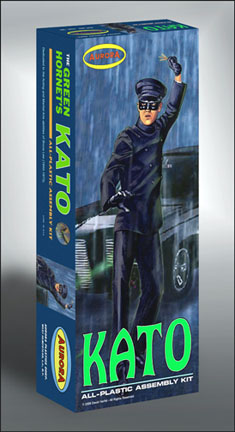 Green Hornet Kato 1966 Bruce Lee Aurora Fantasy Box