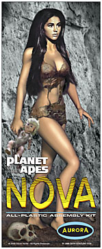 Planet Of The Apes Nova Linda Harrison Aurora Fantasy Box