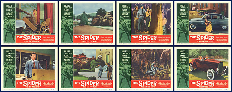 Spider, The 1958 11x14 Lobby Card Set