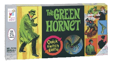 Green Hornet Quick Switch Game - 1966 Box Reproduction