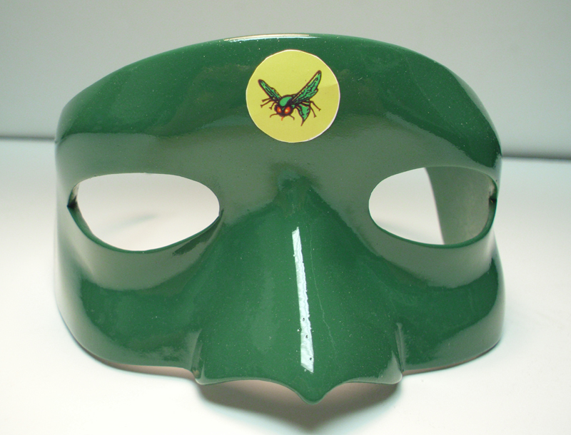 Hornet Mask PAINTED Prop Replica