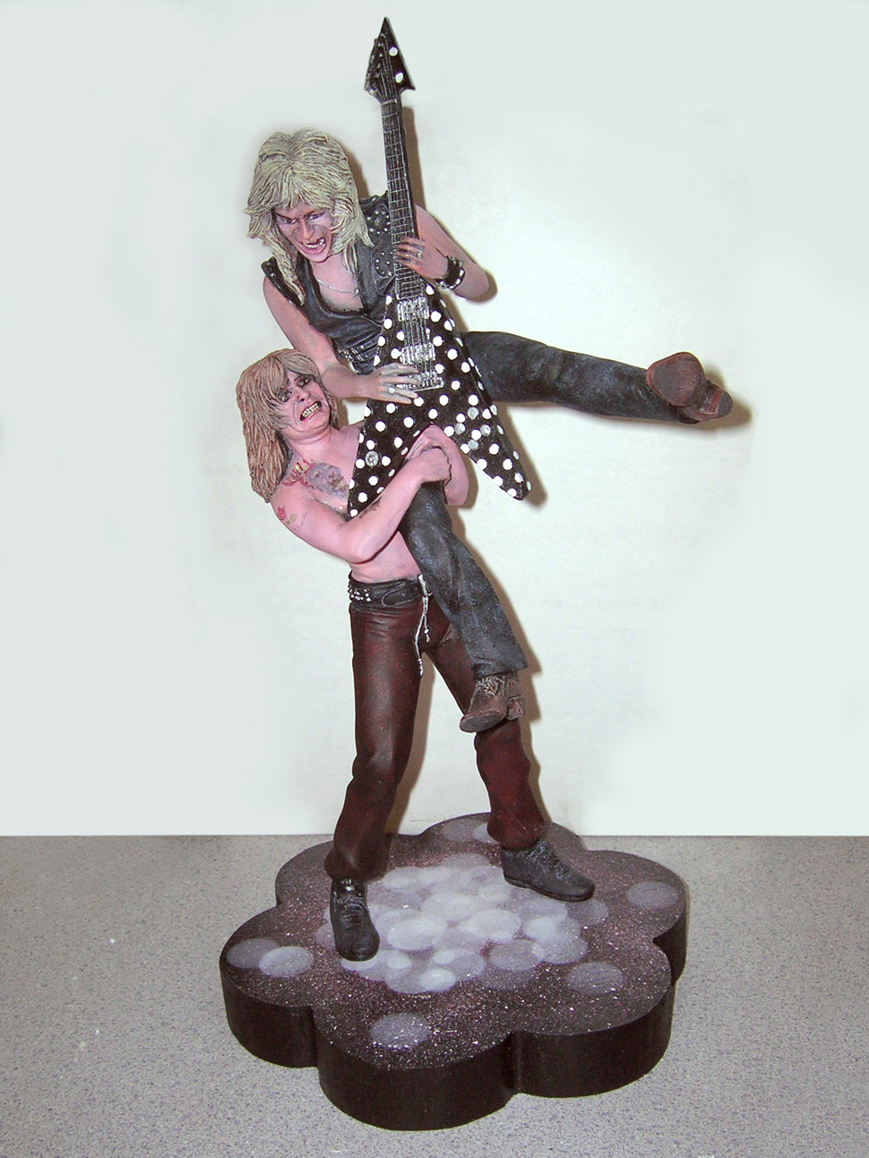 Ozzy Osborne & Randy Rhoads Tribute 1/8 Scale Model Kit