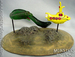 Yellow Submarine and Serpent Resin Model Assembly Kit
