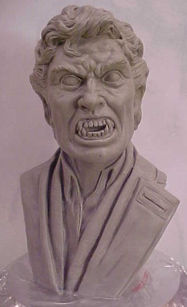 FN Vampire 1/4 Scale Bust Model Kit