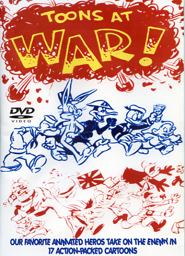 Toons At War DVD World War II Cartoons