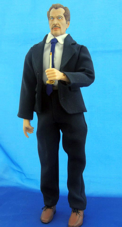 "House on Haunted Hill Fredrick Loren Vincent Price 12"" Custom Figure (Colour Version)"