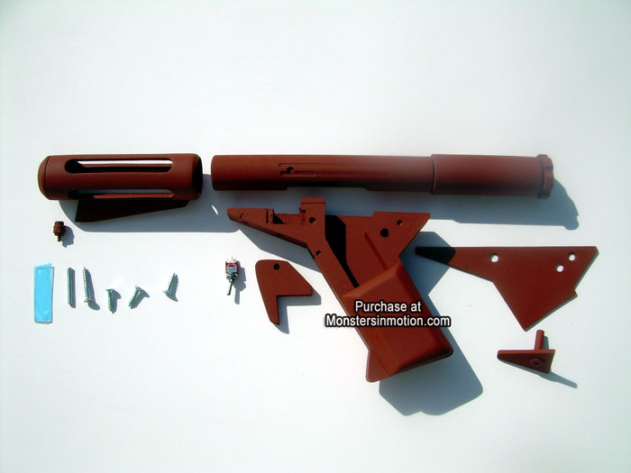Sandman Blaster (Flame gun) 1/1 Resin Prop Model Kit