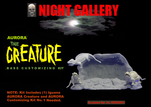 Creature Aurora Base Customizing Model Kit