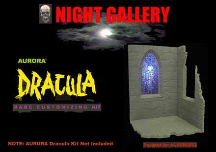 Dracula Aurora Base Customizing Model Kit