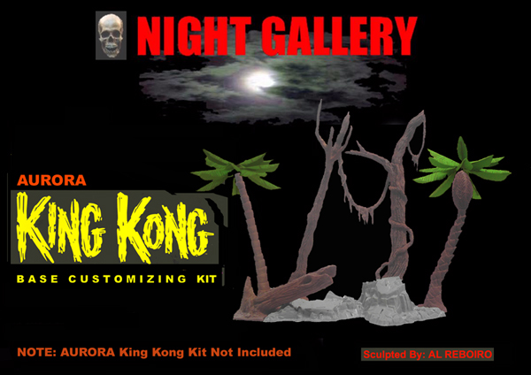 King Kong Aurora Base Customizing Model Kit