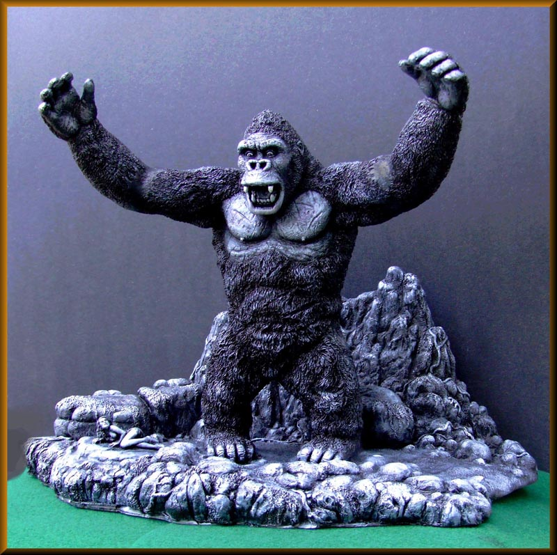 King Kong On Skull Island Resin Assembly Model Kit