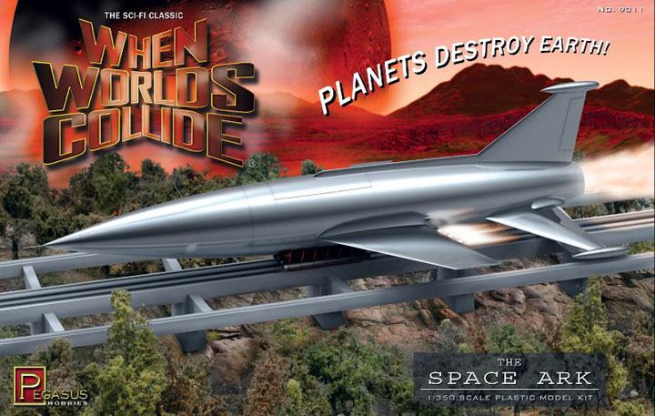 When Worlds Collide Space Ark Plastic Model Kit 1/350 Scale