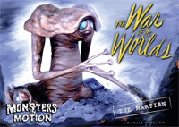 War Of The Worlds 1953 Martian Figure 1/8 Scale Model Kit