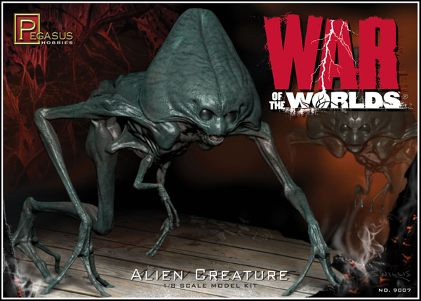 War Of The Worlds 2005 Alien Model Kit Tom Cruise Film