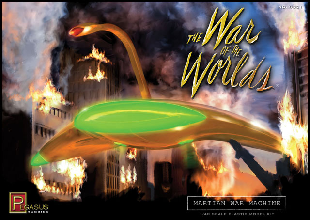 War Of The Worlds Martian War Machine 1/48 Plastic Model kit