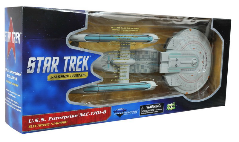 Star Trek Enterprise B Electronic Toy-Art Asylum