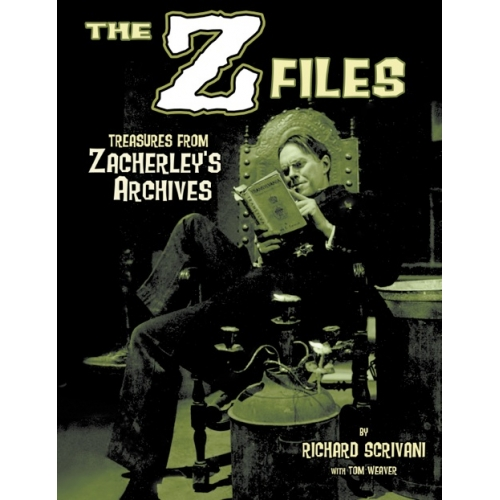 THE Z FILES: TREASURES FROM ZACHERLEY'S ARCHIVES by Richard Scrivani